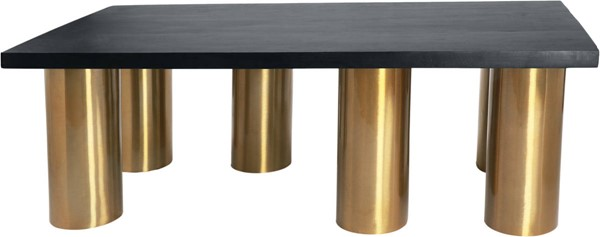 Design Edge Boulia  Brushed Gold Legs Coffee Table DE-23462176