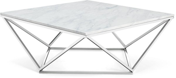 Design Edge Dirranbandi  Chrome Coffee Table DE-22250902