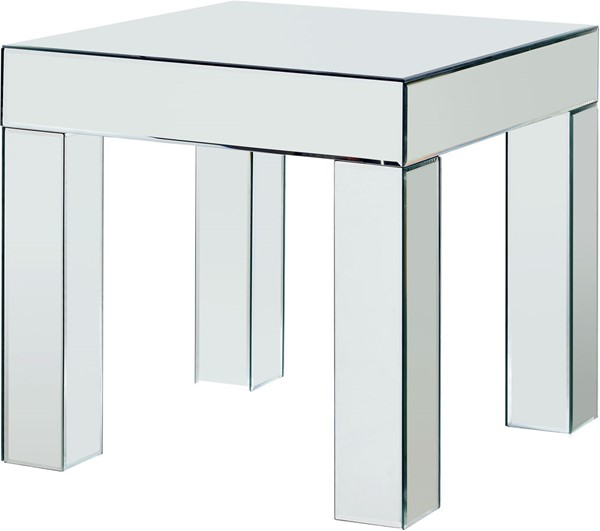 Meridian Furniture Lainy Mirrored End Table MRD-249-E