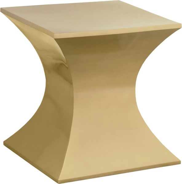 Meridian Furniture Russo Gold End Table MRD-278-E