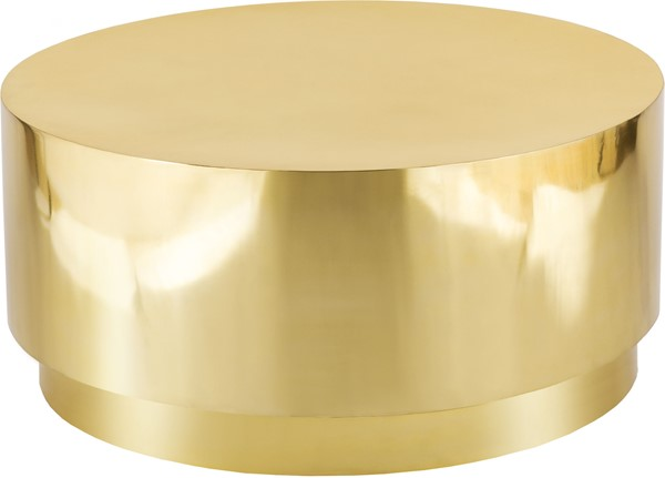 Meridian Furniture Jazzy Gold Coffee Table MRD-281-C