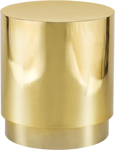 Meridian Furniture Jazzy Gold End Table MRD-281-E