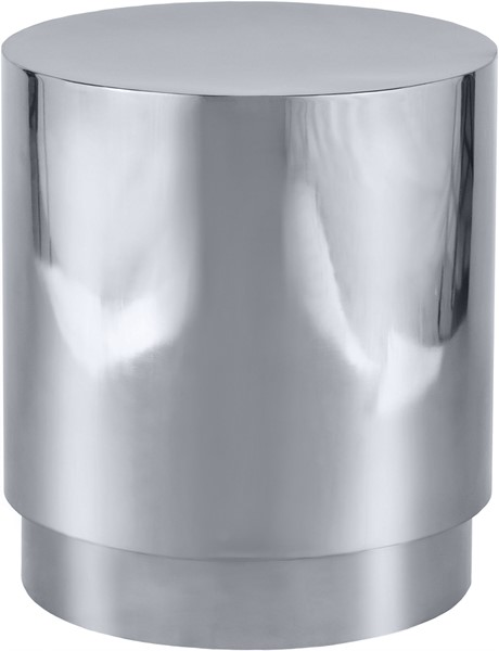 Meridian Furniture Jazzy Silver End Table MRD-282-E