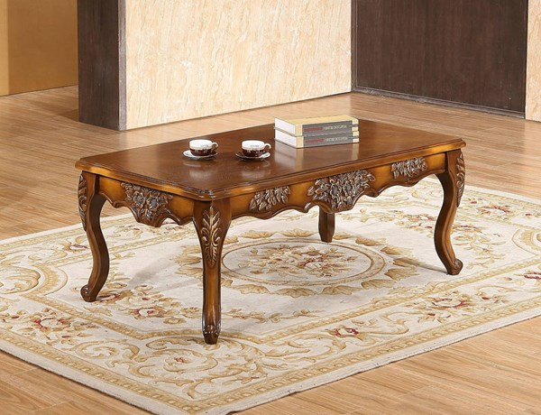 Meridian Furniture Seville Cherry Coffee Table MRD-293-C