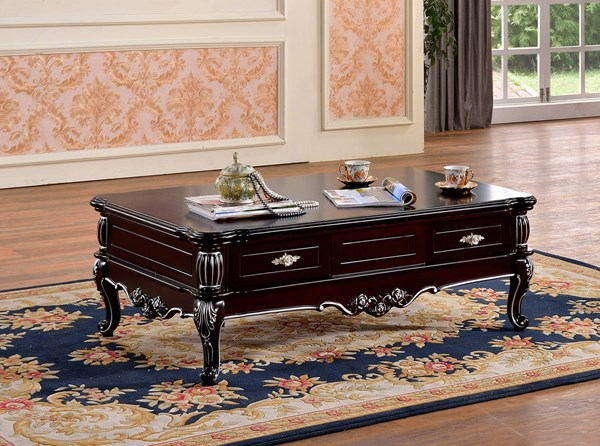 Meridian Furniture Valentino Cherry Coffee Table MRD-297-C