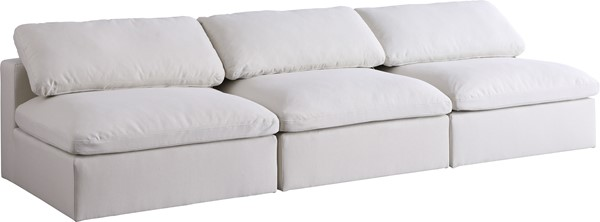 Meridian Furniture Serene Modular 3pc Armless Sofas MRD-601-S117-VAR