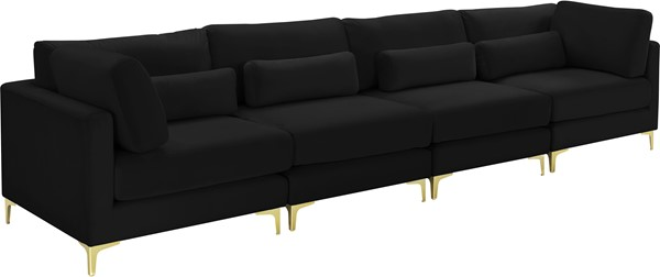 Meridian Furniture Julia 4pc Modular Sofas MRD-605-S142-VAR