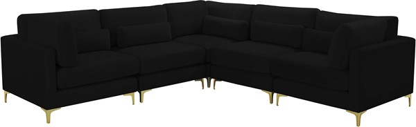 Meridian Furniture Julia Symmetrical 5pc Modular Sectionals MRD-605-SEC5C-VAR