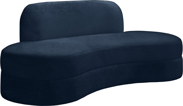 Meridian Furniture Mitzy Navy Velvet Sofa MRD-606Navy-S