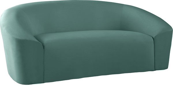 Meridian Furniture Riley Mint Velvet Loveseat MRD-610Mint-L