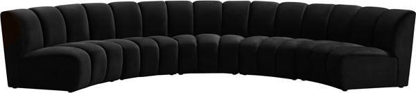Meridian Furniture Infinity 5pc Modular Sectionals MRD-638-SEC-5PC-VAR