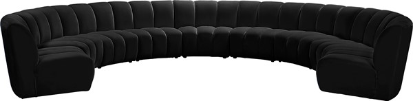Meridian Furniture Infinity 9pc Modular Sectionals MRD-638-SEC-9PC-VAR