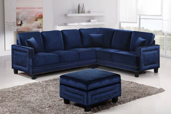 Meridian Furniture Ferrara 2pc Sectional MRD-655-FEB-SEC-VAR