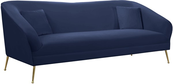 Meridian Furniture Hermosa Navy Sofa MRD-658Navy-S