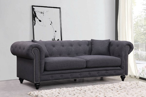 Meridian Furniture Chesterfield Sofas MRD-662-LR-SF-VAR