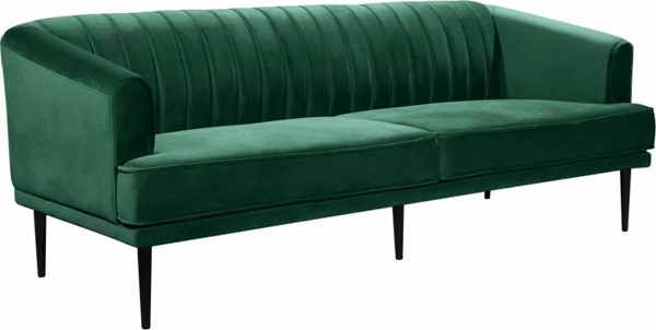 Meridian Furniture Rory Green Velvet Sofas MRD-689-SF-VAR