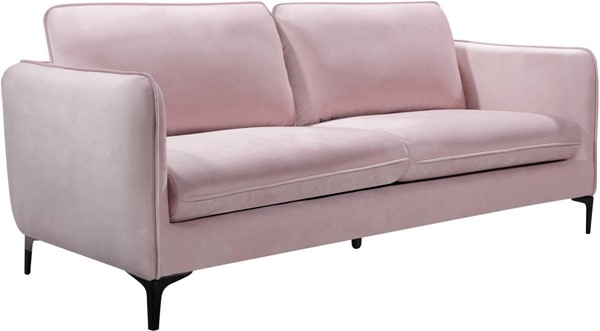 Meridian Furniture Poppy Pink Velvet Sofa MRD-690Pink-S