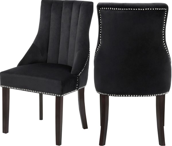 Design Edge Blackall  Velvet Dining Chairs DE-22787439