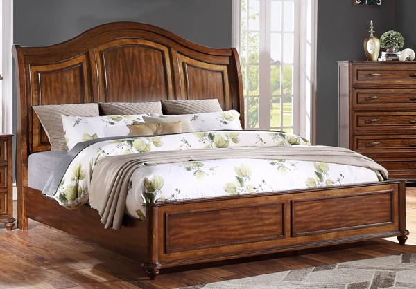 New Classic Furniture Aberdeen Cherry Bed NCF-B1256-Q-BED-VAR