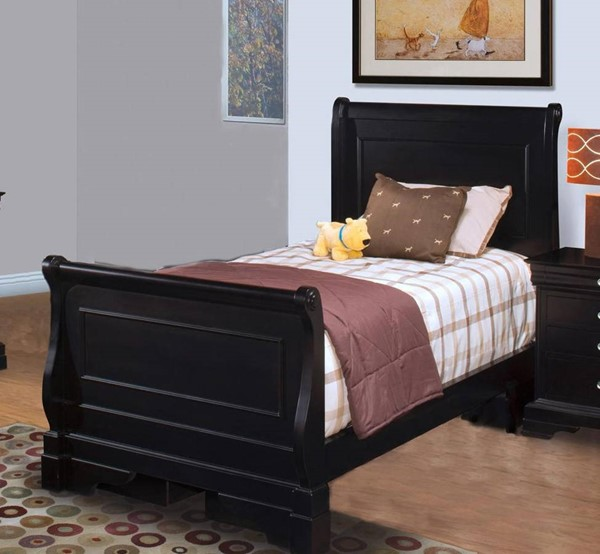 New Classic Furniture Belle Rose Youth Black Cherry Lounge Beds NCF-05-013-BED-VAR