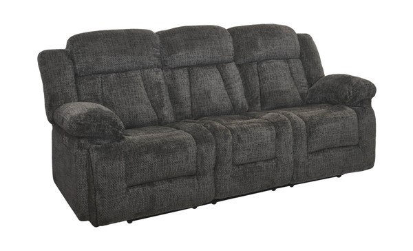 New Classic Furniture Laura Pewter Full Power Sofa NCF-22-2265-32PH-JPT