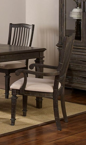 2 New Classic Furniture Cadiz Brown Gray Arm Chairs NCF-40-821-21