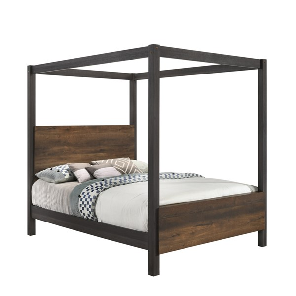 New Classic Furniture Timarron Poster Bed NCF-B2818-Q-BED-VAR3