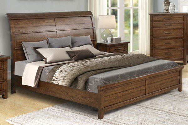 New Classic Furniture Fairfax County Bed NCF-B704-Q-BED-VAR