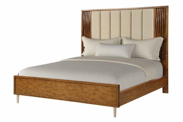 New Classic Furniture Bamboo Wave Bed NCF-B720-QK-BED-VAR