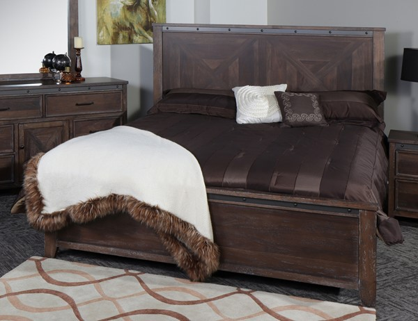 New Classic Furniture Stonehurst Bed NCF-B945-Q-BED-VAR