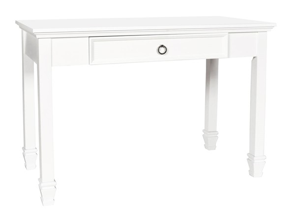 New Classic Furniture Tamarack Modern White Desk NCF-BB044W-091