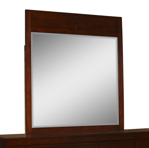 New Classic Furniture Kensington Burnished Cherry Mirror NCF-BH060-060