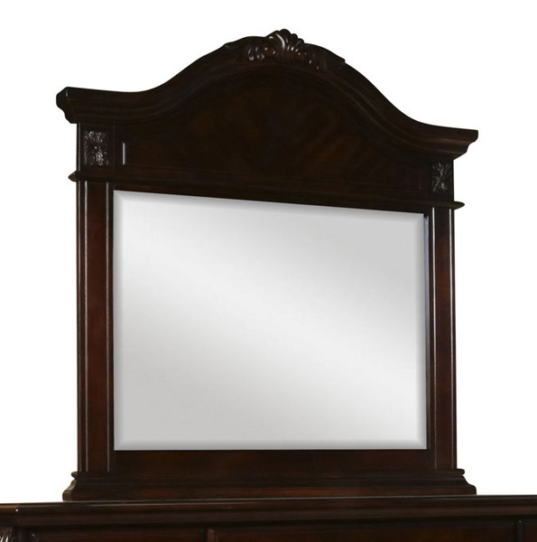 New Classic Furniture Emilie Brown Mirror NCF-BH1841-060