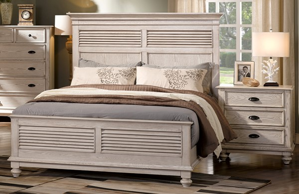 New Classic Furniture Lakeport Driftwood 2pc Queen Bedroom Set NCF-BJ220W-Q-BR-S1