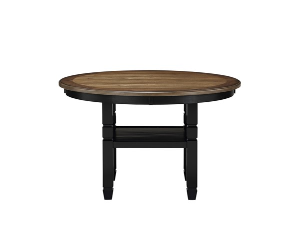 New Classic Furniture Prairie Point Black 47 Inch Round Dining Tables NCF-D058B-11