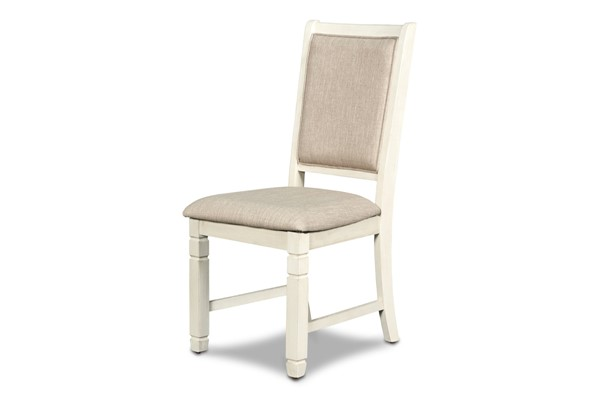 New Classic Furniture Prairie Point Cottage White Side Chair NCF-D058W-20