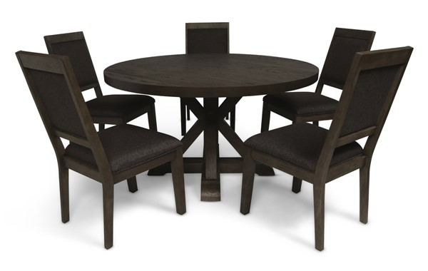 New Classic Furniture Madelyn Smoke 6pc Dining Room Set NCF-D1065-11-DR-S2