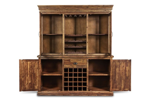New Classic Furniture Normandy Wine Cabinet NCF-D1232-46-WR