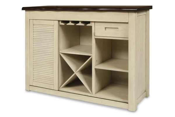 New Classic Furniture Heather Weathered White Server NCF-D1309-40