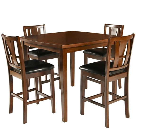 New Classic Furniture Dixon 5pc Counter Dining Set NCF-D1426-52S