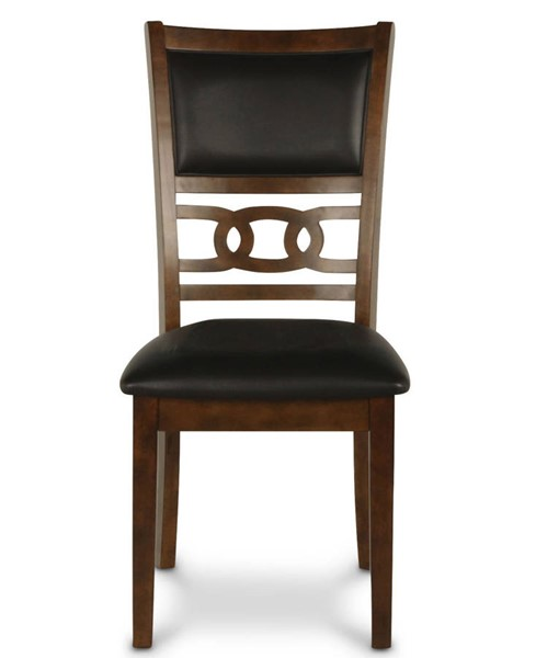 2 New Classic Furniture Brown Gia Dining Chairs NCF-D1701-20-BRN
