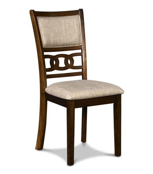 2 New Classic Furniture Cherry Gia Dining Chairs NCF-D1701-20-CHY