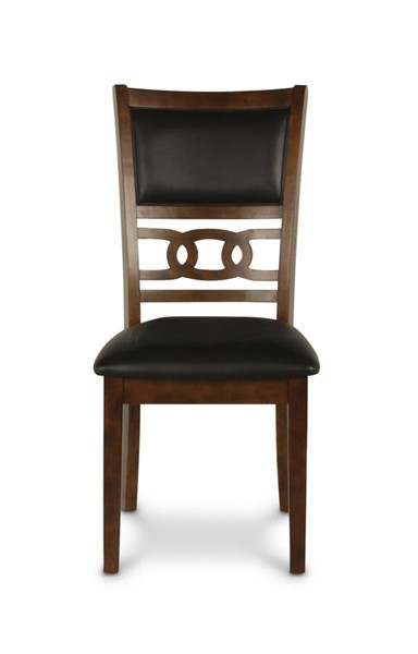 New Classic Furniture Brown Cherry Gia Dining Chairs NCF-D1701-20-CH-VAR