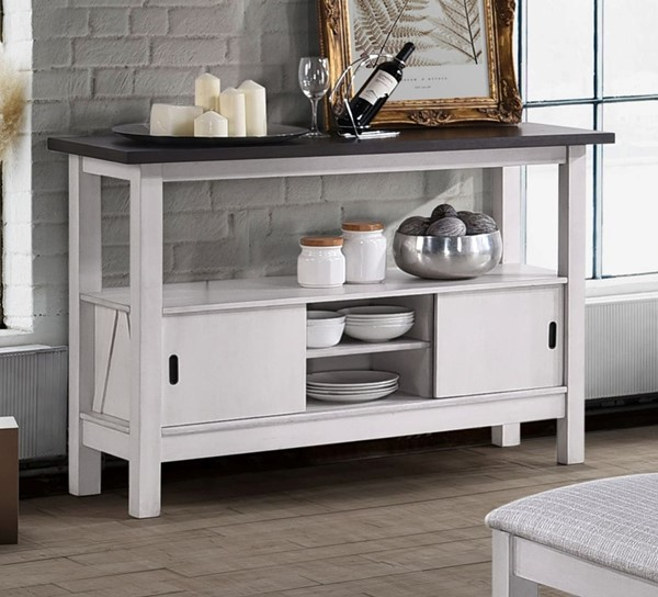 New Classic Furniture Maisie Grey Server NCF-D1903-30