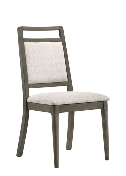 2 New Classic Furniture Dorset Weathered Grey Dining Chairs NCF-D291-20