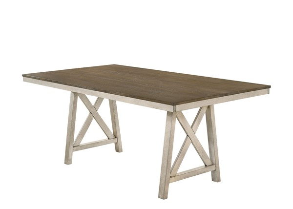 New Classic Furniture Somerset White Dining Table NCF-D2959-10