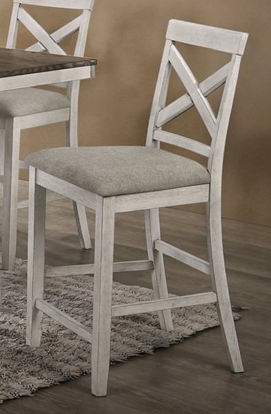 New Classic Furniture Somerset White Counter Chair NCF-D2959-22