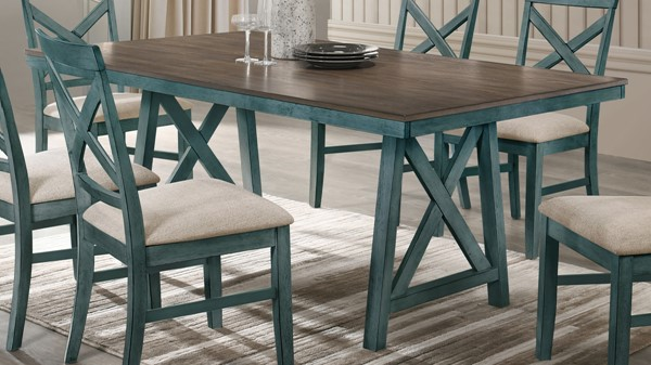 New Classic Furniture Somerset Blue Counter Table NCF-D2959B-12