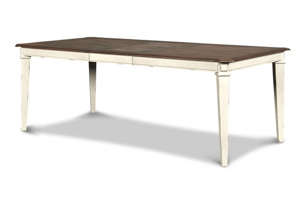 New Classic Furniture Anastasia White Dining Table NCF-DH1731-10