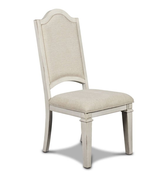 2 New Classic Furniture Anastasia White Dining Chairs NCF-DH1731-20